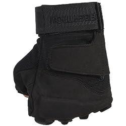 Seibertron Hombres de Negro S.O.L.A.G. Special Ops Finger completo / Luz Guantes Asalto Táctico Guantes de disparo completo dedo Combate Militar del Ejército (negro, M)