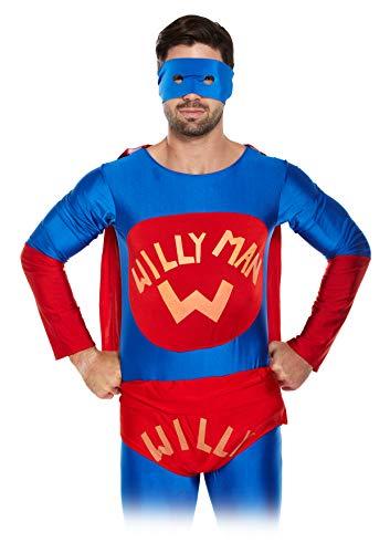 Kostüm Verkleidung - Willy Man Kostüm (Standard ()