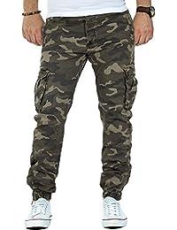 RedBridge by Cipo Baxx Herren Cargo Hose Camouflage Streetwear Freizeit Dope TOP