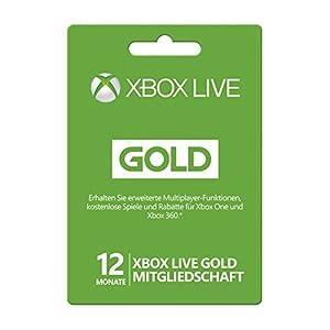 Xbox Live – Gold-Mitgliedschaft 12 Monate
