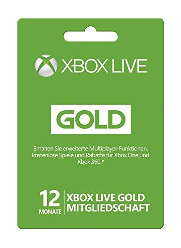 Xbox Live - Gold-Mitgliedschaft 12 Monate (Gold Xbox Live)