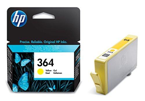 HP 364 Gelb Original Druckerpatrone für HP Deskjet, HP Officejet, HP Photosmart
