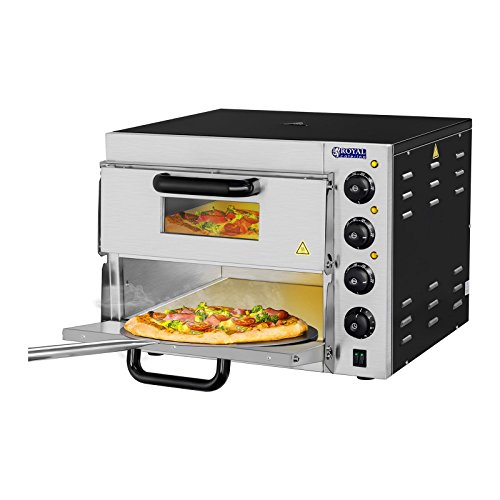 Royal Catering - RCPO-3000-2PS- pizza oven