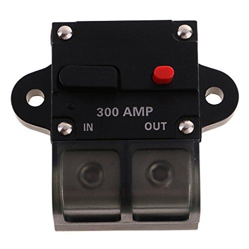 Preisvergleich Produktbild Sharplace 50A bis 300A Automatiksicherungshalter Automat Schalter 12V für Auto Boot - 300A
