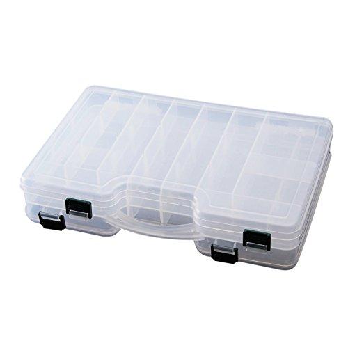 SODIAL(R)29*19*6cm boite de rangement plastique de...