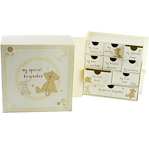 Card and Party Store Baby Box for Keepsakes and Memories