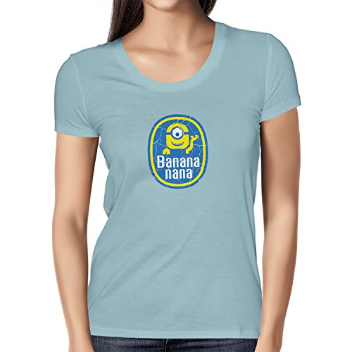 TEXLAB - Banana Nana - Damen T-Shirt Hellblau