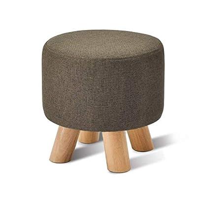 Hocker Massivholz Mode Sofa Bank Stoff Bank Hause Ändern Schuh Bank Kleine Bank von HHY - Gartenmöbel von Du und Dein Garten