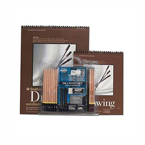 hyatts-sketching-set-18-pieces-2-pads