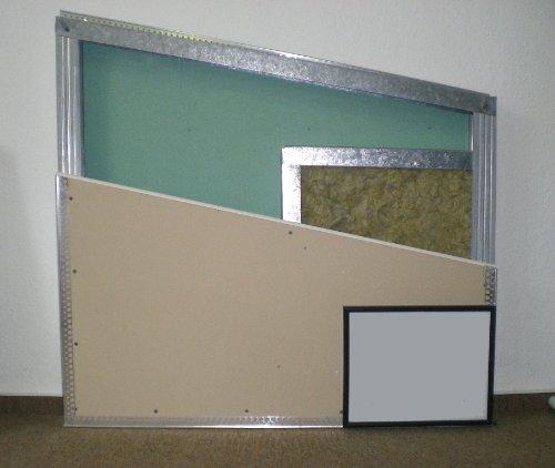 Gipskartonbauplatte imprägniert (feuchtraumgeeignet) 12,5 mm