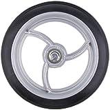 Fenteer Pro Ruedas delanteras para silla de ruedas, repuesto de ruedas, accesorios para herramientas de repuesto.