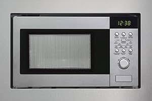 silverline mwg 610 e einbau mikrowelle mit grill amazon. Black Bedroom Furniture Sets. Home Design Ideas