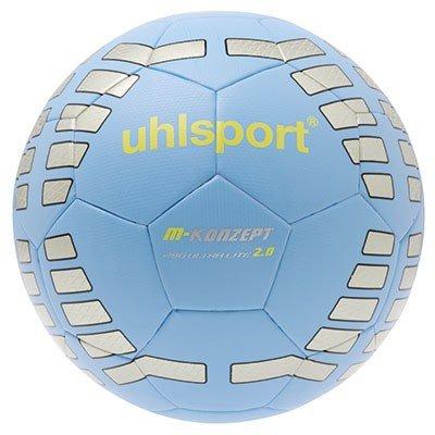 uhlsport Fußball M-Konzept 290 Ultra Lite  2.0, Eisblau/Silber/Fluo Gelb, 5, 100159201