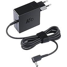 KFD 65W Adaptador Cargador Portátil para Asus Zenbook UX305 UX305CA UX305FA UX305LA UX21A UX31A Ux302 UX302LA UX32A UX32V UX32VD UX303LB UX303UA UX303UB UX330UA X553 X553M X553MA UX42A 19V 3.42A