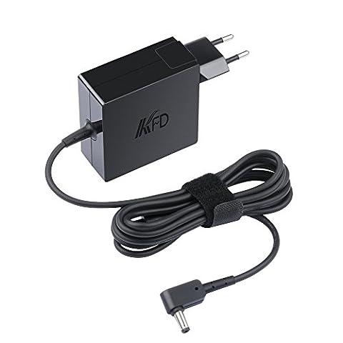 KFD 65W AC Adapter Netzteil Ladegerät für Asus Medion Toshiba Lenovo Gericom Fujitsu Benq Notebooks Asus A2L A2 SA6 A8 F8 S1 U3 N70 X401 X401A X501 X501A X502CA ADP-65DW B ADP-65DW C ADP-65GD B ADP65JH-BB FSP065-ASC FSP065-AAC X550 X550C X550CA X550LA Asus VivoBook Q301 Q301LA Q400 Q400A Q500A F502CA A52F A53E A53U A53S A54C A55A X53E X54C X55A - 19V