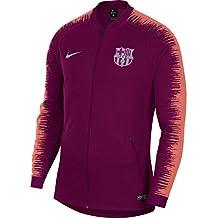 Nike FC Barcelona Anthem - Partes de Arriba de Ropa Deportiva para fútbol (Adulto,