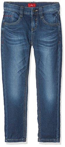 s.Oliver Jungen Jeans 63.709.71.3001 Blau (Blue Denim Stretch 56Z2), 104 (Herstellergröße: 104/REG) (Kinder-jeans Blaue)