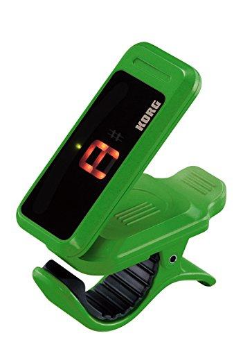Korg Pitchclip grün | Pitch-Clip PC-1 Tuner Stimmgerät | chromatisch universal