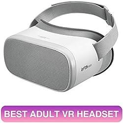 PVR Iris Standalone Casque de réalité virtuelle Tout en Un pour Films 2D 3D - Applications Youtube Netflix et Carte MicroSD