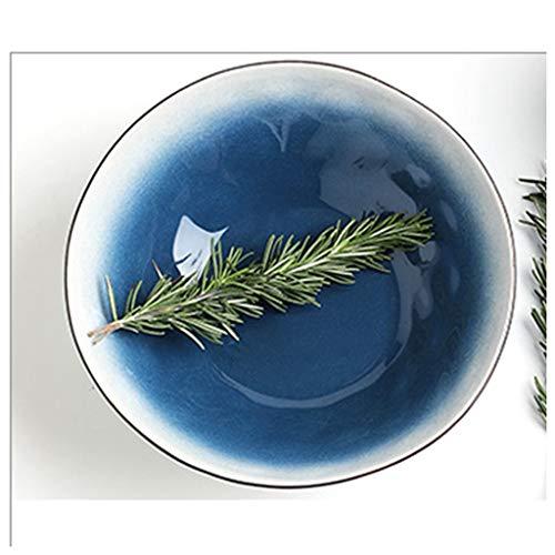YYF Céramique Vaisselle Nordic Net en céramique - Noodle Bowl/Bol à soupe/Fruit/Porridge Bowl 7.8 pouces (20cm)
