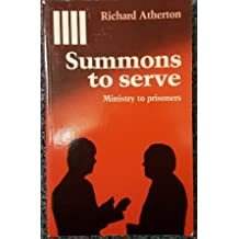 Summons to Serve: Christian Call to Prison Ministry