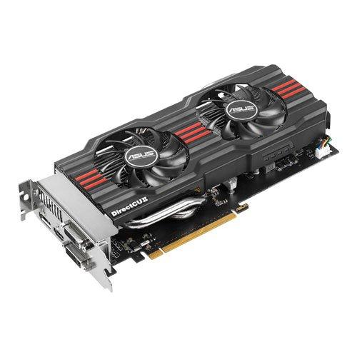 Asus GeForce GTX660 DirectCU II OC Grafikkarte (PCI-e 3.0, 2GB GDDR5 Speicher, DVI, HDMI, VGA 1 GPU, DisplayPort) - 660 Gtx Pc