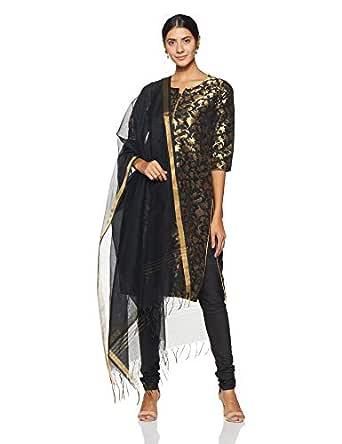 BIBA Women's Straight Salwar Suit Set (SKD5766_Black_36)