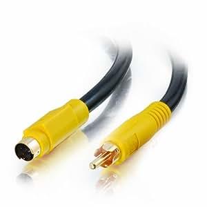 Cables To Go  Câble bidirectionnel S-Vidéo vers RCA 3m