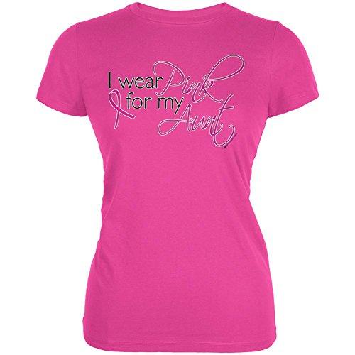 Ich trage für meine Tante Junioren Soft T Shirt Pink Red