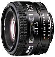 Nikon AF Nikkor 50mm F/1.4D Prime Lens for Nikon DSLR Camera