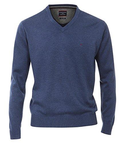 Casa Moda - Herren Pullover mit V-Ausschnitt in verschiedenen Farben (004130) Blau (138)