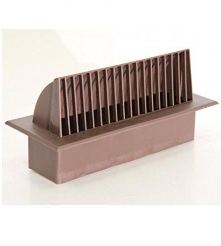 Single Brick 9 x 3 Airblast Cowl - BM432C/5 Rustic Brown by Stadium