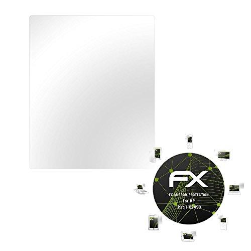 atFolix Displayfolie kompatibel mit HP iPaq HX2490 Spiegelfolie, Spiegeleffekt FX Schutzfolie -
