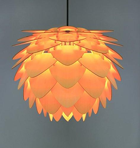Thorecrdh Nordic Restaurant/Bar Muttern Pinecone Kronleuchter kreative Einfache moderne Holz- Holz romantische Persönlichkeit Lampen, die Y 4109 -