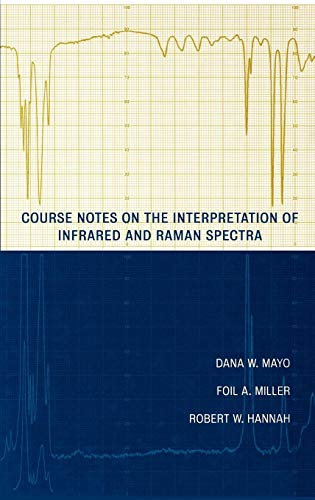 Course Notes on the Interpretation of Infrared and Raman Spectra: Deducing Structures of Complex Molecules
