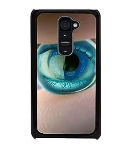 printtech Marble Eye Back Case Cover for LG G2::LG G2 D800 D980