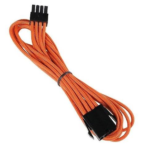 BitFenix 8 Pin EPS12v, 45cm - cables électriques (45cm, Mâle/Femelle,
