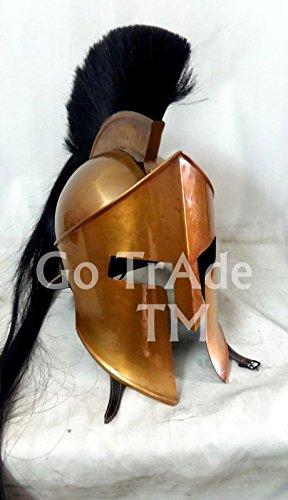 ANTIQUENAUTICAS 300 König Leonidas Spartan Helm Krieger Kostüm mittelalterlichen Helm SCA LARP Geschenk