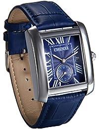 26483ffd76c0 JewelryWe Reloj Azul para Hombre Relojes de Caballero