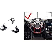 HIGH FLYING Cubierta Decorativa para Volante Interior de plástico ABS de Alto Volante 3 Piezas para