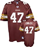 Washington Redskins Throwback NFL American Football Jersey - Cooley #47 - Mens Small NWT