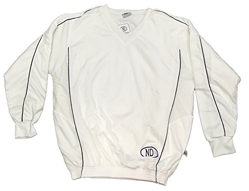 Solo per abbigliamento da Cricket Players Full Sleeve Top/Jersey Playing Maglione Taglia S-XXL, White, XXL