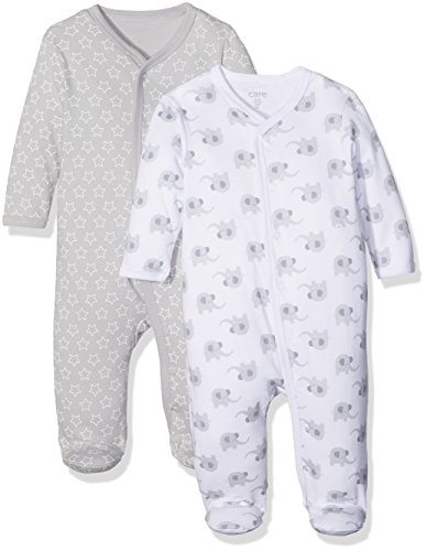 Twins Body Love Bebé, pack de 2, Multicolor (Light Grey 142), 62