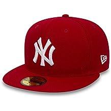 New Era Erwachsene Baseball Cap Mütze Mlb Basic NY Yankees 59Fifty Fitted 57968d68ae7