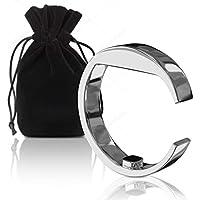 Silverback Anti Schnarch Ring Antischnarchring - In L - Akupressur Antischnarch Helfer Aus Edelstahl Mit Magnet... preisvergleich bei billige-tabletten.eu