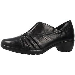 ROMIKA - Damen Trotteur Pumps - Banja 04 - Schwarz Schuhe in Übergrößen, Größe:42