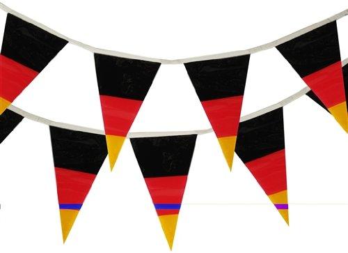 """19399 - PAPSTAR - Wimpelkette 4 m \""""Deutschland\"""" wetterfest"""