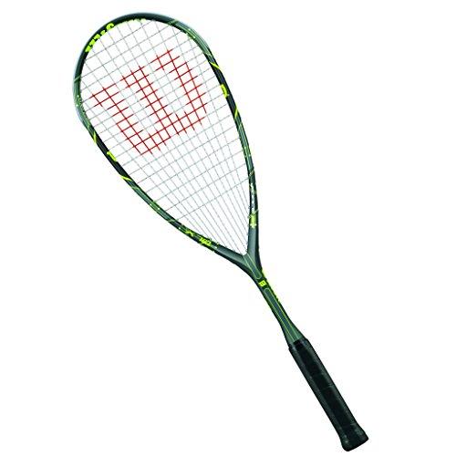 Wilson Squash-Schläger, Damen/Herren, Anfänger, Force 165, WRT911830, Grau/Silber