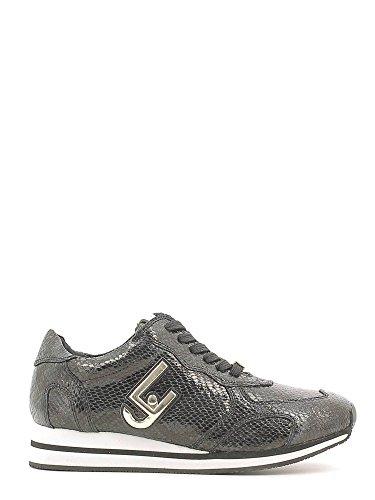 S66067E0331 03V32.Sneaker running glicine.Nero pitone.38