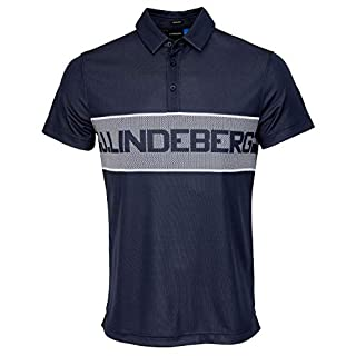 J Lindeberg Ade Reg TX Jaquard - JL Navy - L